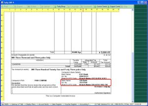 Print Second Bank Detail in Sales Invoice