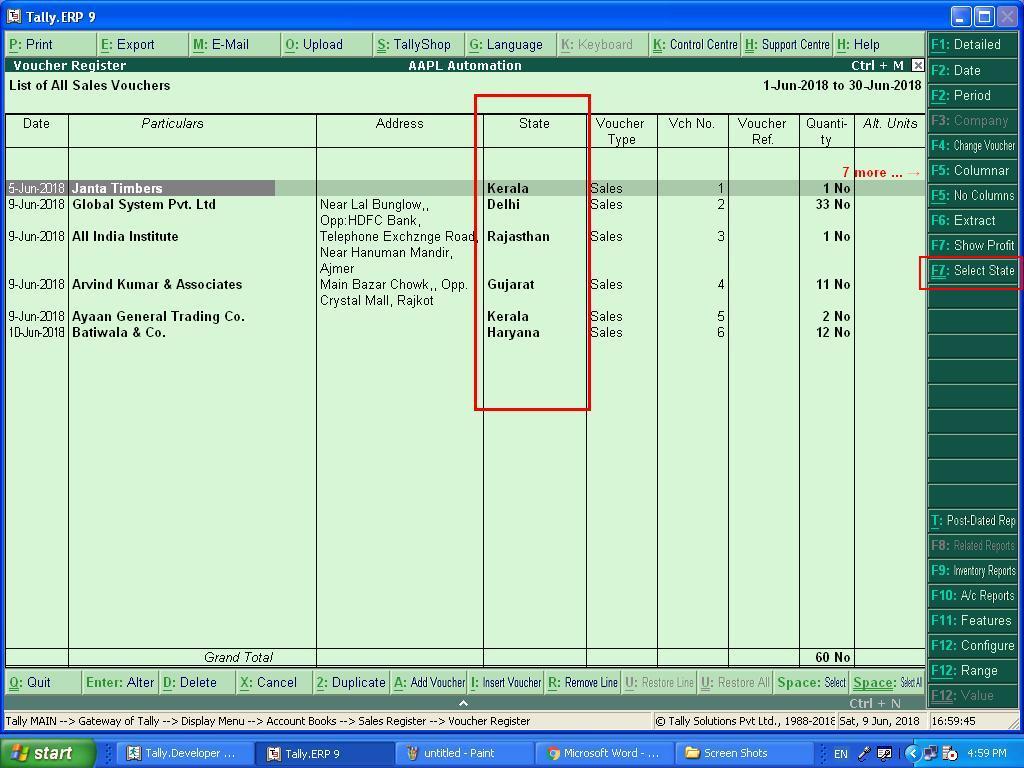 tally software training